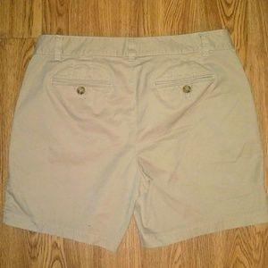 "Talbots Shorts - Talbots ""weekend chino"" shorts size 6 petite"